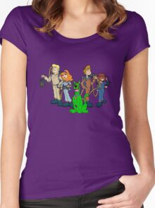 The Real Scooby Busters! Women's Fitted Scoop T-Shirt