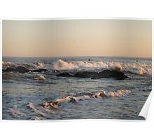 Tranquil Surf Poster