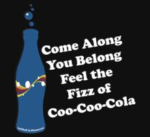 Feel the Fizz Of Coo Coo Cola One Piece - Short Sleeve