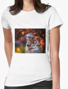 Quiet Respite Womens Fitted T-Shirt