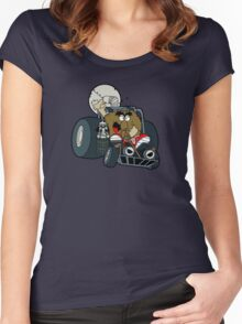 Murky and Lurky Cruise Round In Their Doom Buggy Women's Fitted Scoop T-Shirt