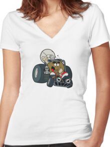 Murky and Lurky Cruise Round In Their Doom Buggy Women's Fitted V-Neck T-Shirt