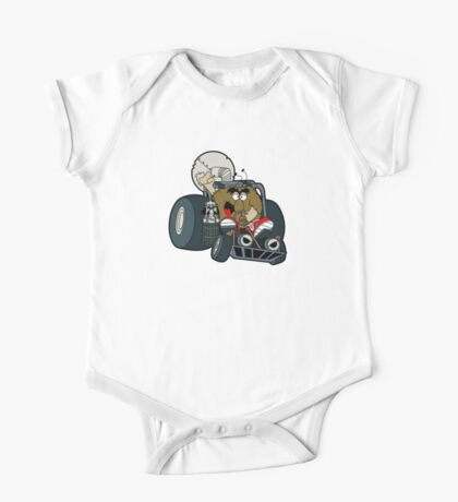 Murky and Lurky Cruise Round In Their Doom Buggy One Piece - Short Sleeve