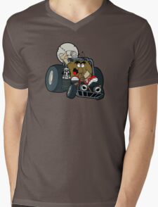 Murky and Lurky Cruise Round In Their Doom Buggy Mens V-Neck T-Shirt