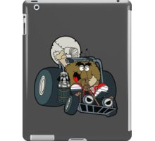 Murky and Lurky Cruise Round In Their Doom Buggy iPad Case/Skin