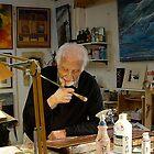 Artist Kris Tangri by Klaus Bohn