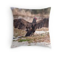 Florida Buzzard Throw Pillow