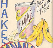 banana shake by blakwida