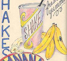 banana shake by blakwida