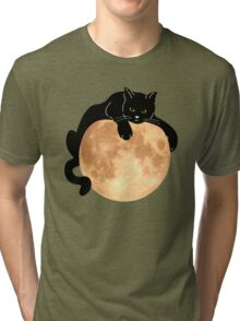 The Black Cat  Tri-blend T-Shirt