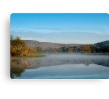 Mirror on Tranquil Lake Canvas Print