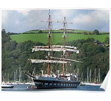 Rigged for Sail - Dartmouth Poster