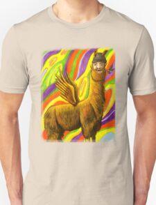 The Flying Llama Dude T-Shirt