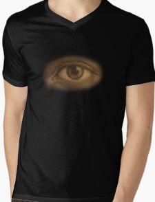 SEEPIA Mens V-Neck T-Shirt