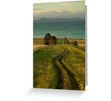 Spray Farm Lane,Bellarine Peninsula Greeting Card