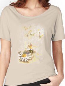 Wild flower Women's Relaxed Fit T-Shirt