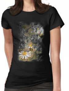 Wild flower Womens Fitted T-Shirt