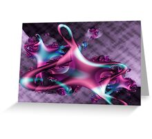 Fluid Motion (wallpaper) Greeting Card