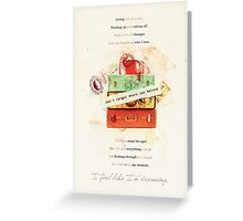 Don't Forget Where You Belong Greeting Card
