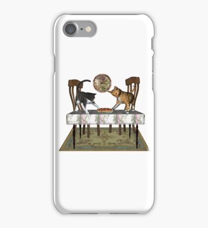 Those Naughty Cats .. Febuary iPhone Case/Skin