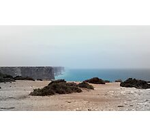Nullarbor cliffs Photographic Print