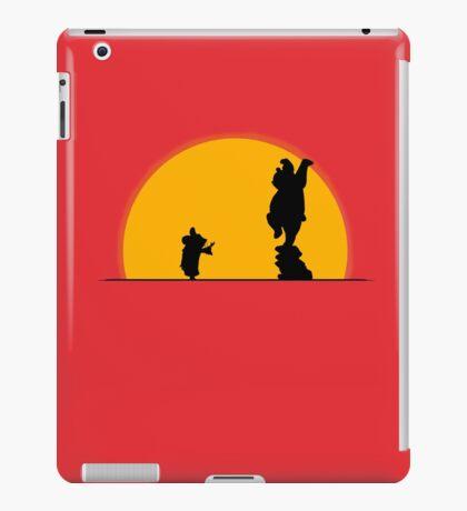 Hard Training Of The Legend iPad Case/Skin