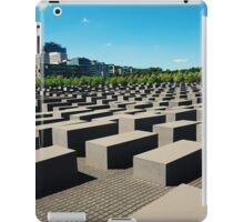 Holocaust Memorial iPad Case/Skin