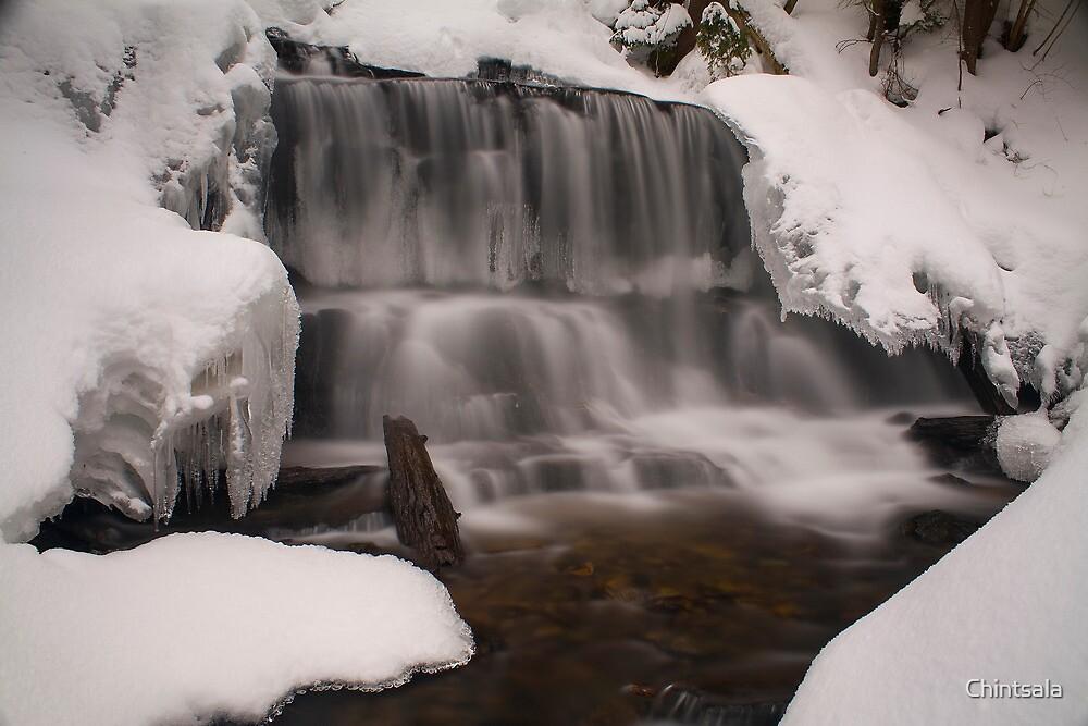 Wagner Falls Frozen by Chintsala