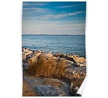 Sandy Point Shoal Lighthouse Poster