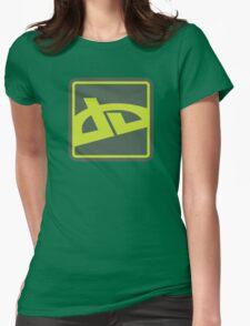 Old deviantART Logo Womens Fitted T-Shirt