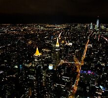 New York City by night... by mediastyle