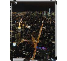 New York City by night... iPad Case/Skin