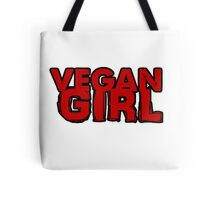 Vegan Girl Bold Tote Bag