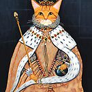 The Coronation - Elizabethan Cat by Ryan Conners