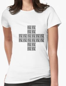 I love technology Womens Fitted T-Shirt