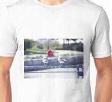 Seagulls and Sun Unisex T-Shirt