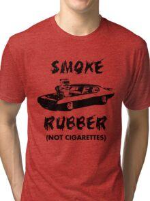 Smoke Rubber Tri-blend T-Shirt