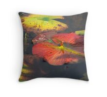 Lily Pad on the Water Throw Pillow