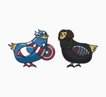 Capitaine Poulet et Buck Buck Bucky by IvanPuff