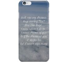 caught lyrics florence and the machine iPhone Case/Skin