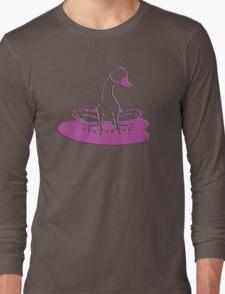 duckfrog - frog, duck, funny, cartoon, cute, humor Long Sleeve T-Shirt