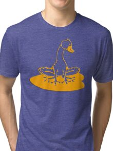 duckfrog - frog, duck, funny, cartoon, cute, humor Tri-blend T-Shirt