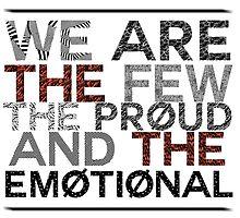 Few. Proud. Emotional by featherarrowss