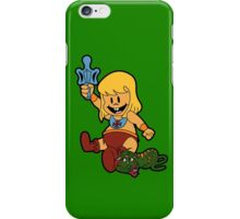 Baby-Man and the Toddlers of the Universe  iPhone Case/Skin