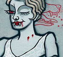 Lucy Westenra, Vampire Jack of Hearts by pixbyr