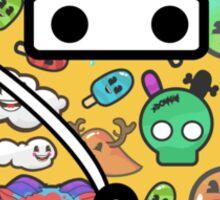 Ninja Pajamas Sticker