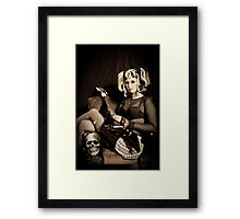 Reflexion of Rock Framed Print