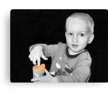 Orange Gac Canvas Print