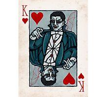 Dracula, Vampire King of Hearts Photographic Print