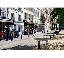 Life in Paris Photographic Print